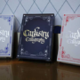 Cardistry Calligraphy, Blue Playing Cards